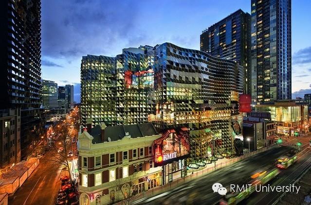 RMIT建筑专业位列世界Top100