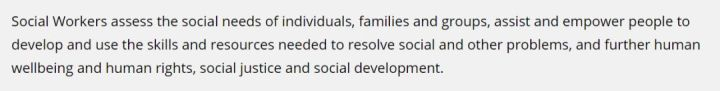 澳洲移民专业分析:社工专业(Social Work)
