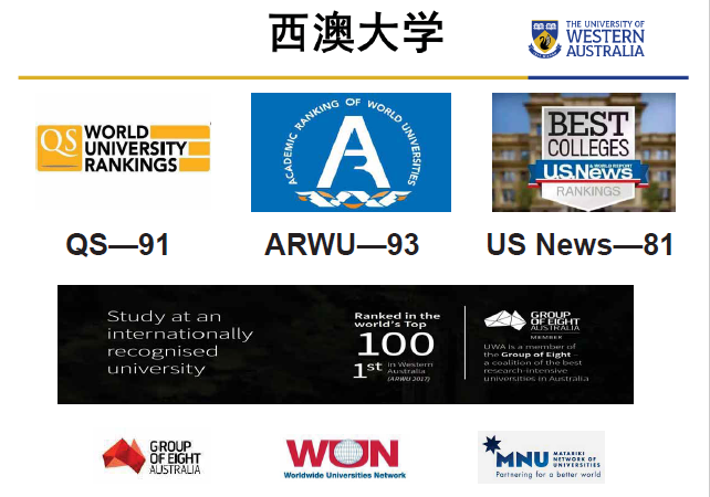 在西澳大学(UWA)就读是怎样一种体验?