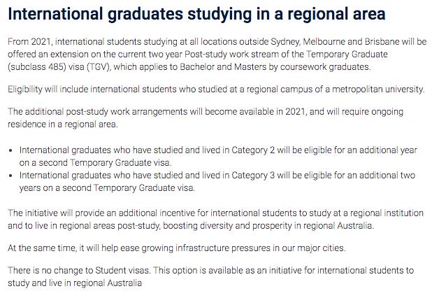 可以申请二次PSW签证的偏远地区,读完书省出首付,你爱了吗?
