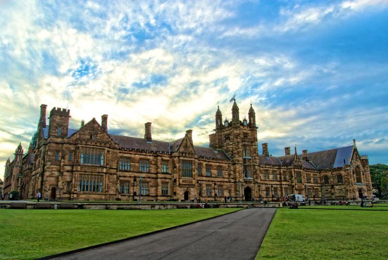File:The Main Quadrangle of the University of Sydney.png