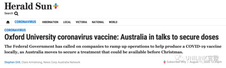 重磅!澳洲或年底前拿到疫苗!留学生返澳计划重提!这些州将成为第一批...