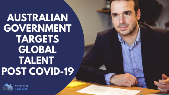 Immigration Minister Hints at Big Focus on the Global Talent Independent  Visa Post-Coronavirus - All News | Work Visa Lawyers