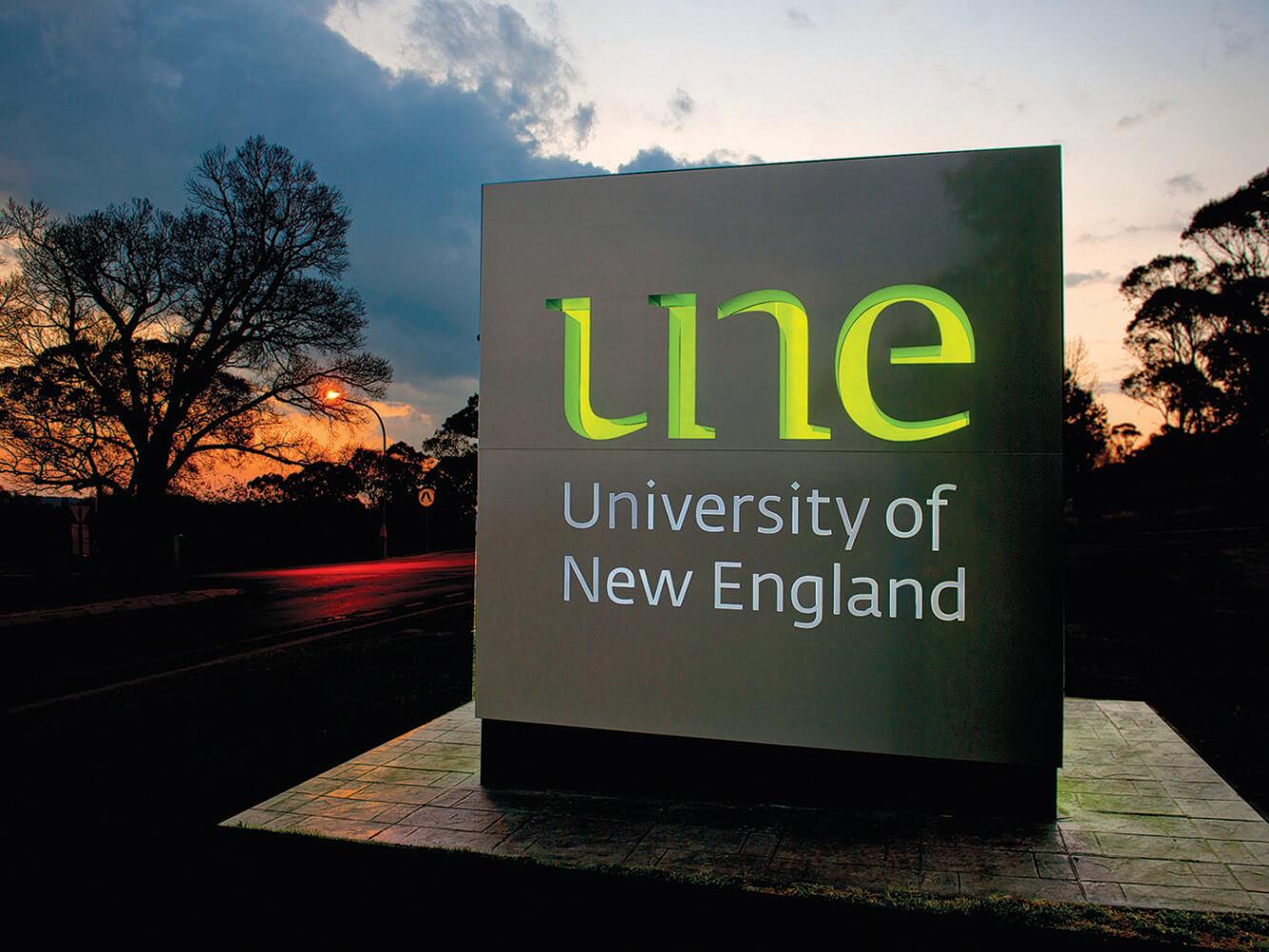 The University of New England – Universities Australia