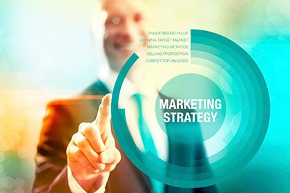 Marketing strategy development.