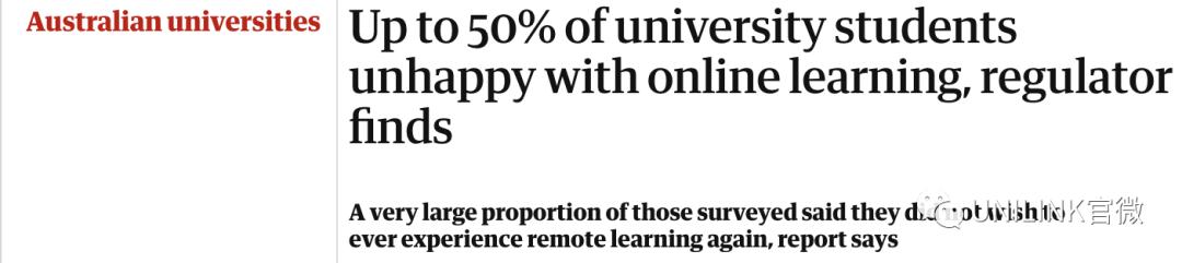 以后网课或将成常态。澳洲大学为减少支出陆续裁员,政府削减大学补贴……