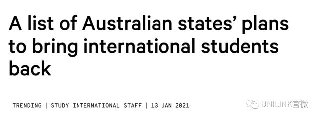 各州返澳计划曝光!请愿方法看这里,上千名留学生已签名!