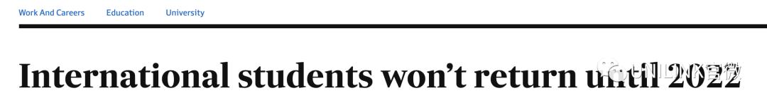 """021年留学生分批入境可行,确保明年第一学期前大量入境。教育部长呼吁澳洲大学改革……"""""""