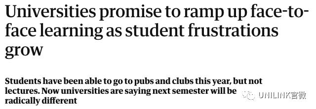 官宣!多所澳洲大学下学期全面恢复面授!但这些课仍保留网课...