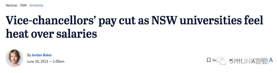 刚刚!UNSW更新留学生返澳事宜!澳洲各大学校长年薪曝光,第一名竟是他!新加坡澳洲有望互通,两国总理今天讨论