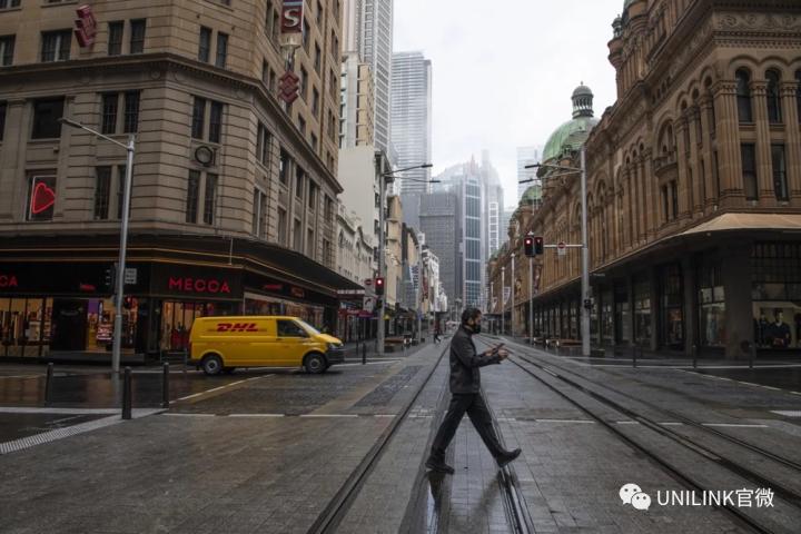 繁华悉尼,已宛如空城。新增35,但数据表明正在好转!封城是否延期下周再定……