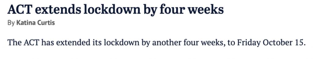 墨尔本疫情或比悉尼更糟,新州新增下降至1127,维州20多岁男子因为确诊死亡。堪培拉延长封城4周……