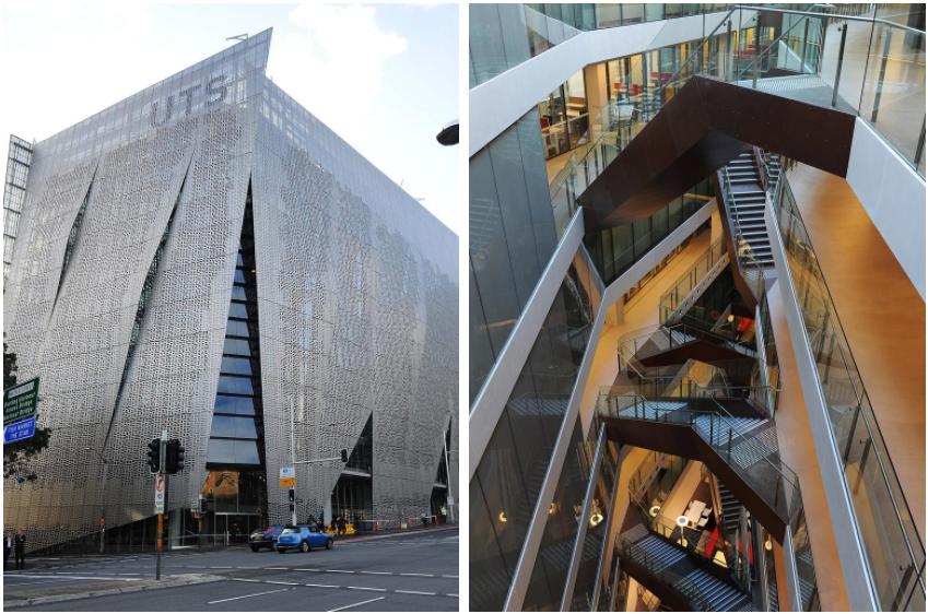 """悉尼科技大学被勒令拆除著名的 """"奶酪机 """"建筑"""