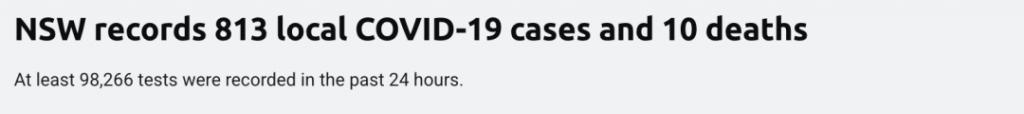中国其他疫苗还没被认可怎么办?维州新增1488,新州813,堪培拉52。反封锁游行又开始了……